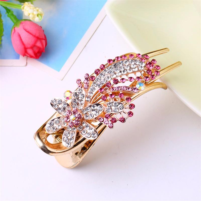 HTB1.uVdNpXXXXc8XFXXq6xXFXXXP Gorgeous Rhinestone Crystal Studded Flower Hair Clip Ornament For Women