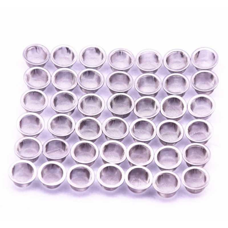 100 شبكة أنابيب التدخين المعدنية الكرة الفولاذ المقاوم للصدأ تصفية الشاشة أنابيب الكريستال تصفية شبكة التدخين الاعشاب التبغ الملحقات