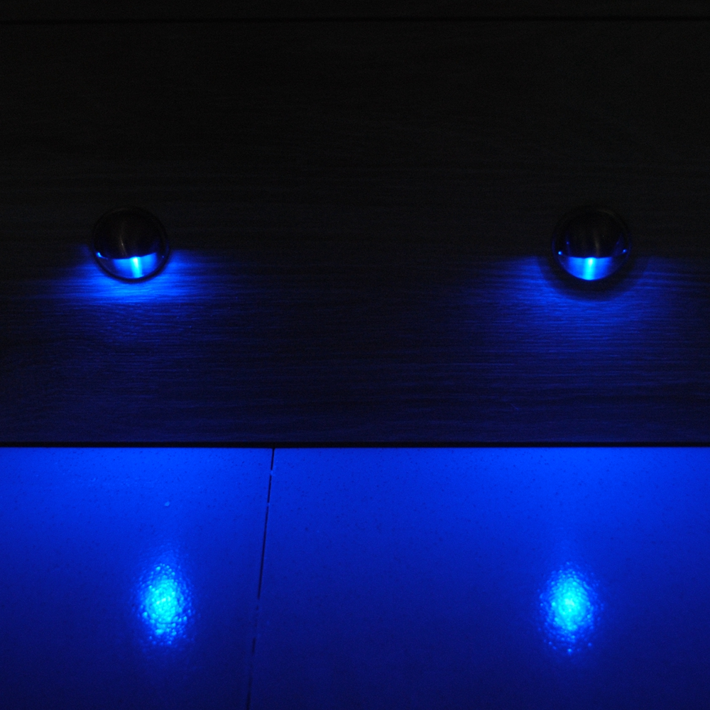 10pcs / Lots Interior y exterior Escaleras con escalones LED - Iluminación exterior - foto 4