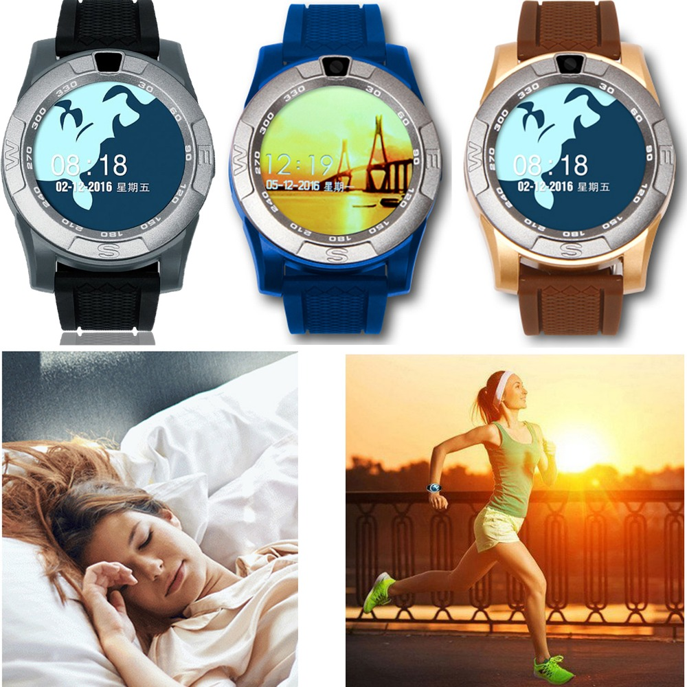 HD Screen Touch Bluetooth Wrist Smart Watch Phone For Android IOS Apple iPhone Samsung LG Motorola Huawei HTC Lenovo Alcatel ZTE