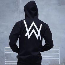 Heißer Verkauf Alan Walker Verblasst DJ Hoodie Jacken fashion Hoodie Unisex Sweatshirts Alan Walker gleiche jacke und hose