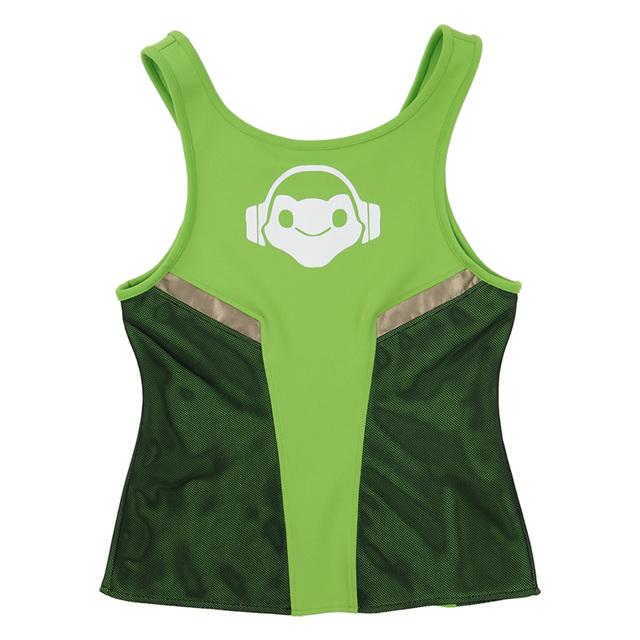 Verano Otoño camiseta Verde Traje OW Lucio Cospaly Camiseta Mujeres Camiseta Hombre camiseta Sudadera de Algodón Nuevo Envío Libre