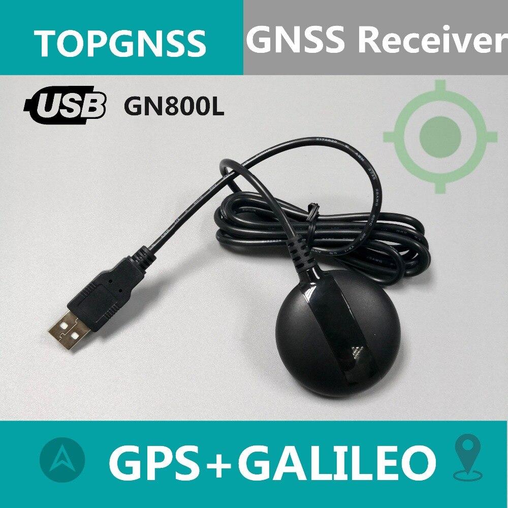 USB GPS приемник TOPGNSS, приемник GALILEO M8030, двойной приемник GNSS, модуль антенны aptop PC,GN800L лучше, чем G-mouse