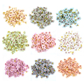 50 шт., недорогие шелковые цветки-Маргаритки, 2 см