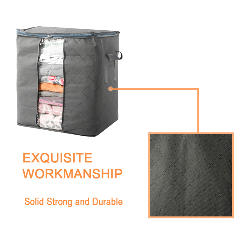 TTLIFE Hot Sale! YANG Home Storage Organization Extra Large Bamboo charcoal Home Storage Organization bags