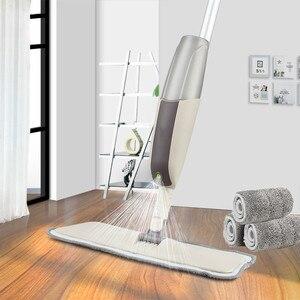 Spray Floor Mop with Reusable