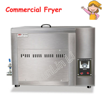 Oil water Separation Electric Deep Fryer Large Capacity Commercial Fryer Steel Frying Machine MJ 100|Electric Deep Fryers|Home Appliances -