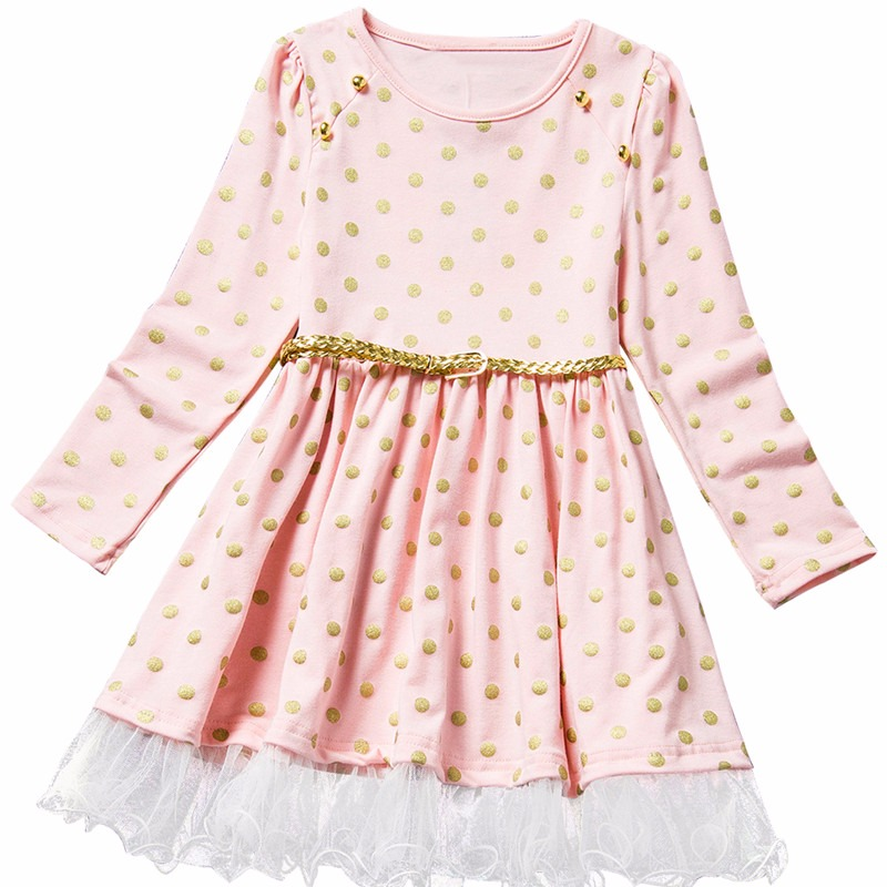 Baby Girl Dress Long Sleeve Kids Dresses For Girls Clothes Children Clothing Little Princess Clothes Winter Infant Party Wear baby clothes winter dresses girls dress nova kids wear embroidery fashion girls frocks children clothes girl party dresses