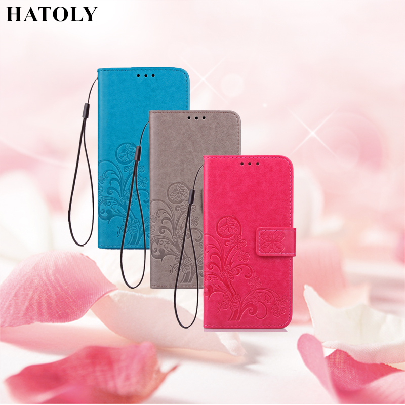 HATOLY For Flip Wallet Case Sony Xperia XZ Premium Leather Cases Soft Silicone Cover Stand Phone Bag For Sony Xperia XZ Premium