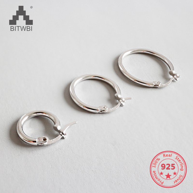 100% S925 Sterling Silver Simple Personality Geometric Hollow Earrings100% S925 Sterling Silver Simple Personality Geometric Hollow Earrings