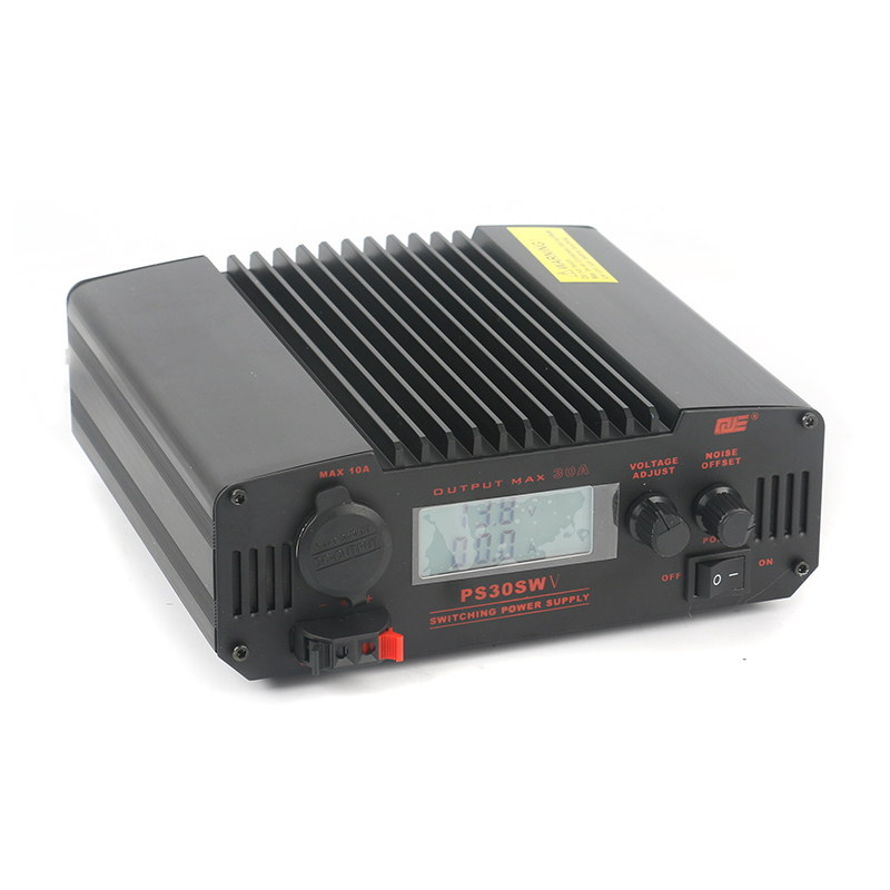 QJE PS30SWV Radio Transceiver Base Station Commumication LCD Digital Adjustable Switching DC Power Supply 30A 9-15V 13.8V