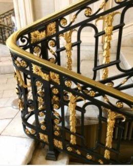 Hench 100 Handmade Forged Custom Designs Outdoor Wrought Iron   Wrought Iron Handrail Designs   Staircase   Iron Pipe   Cast Iron Railing   Garden   Geometric Railing