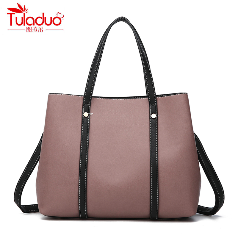 2018 Fashion Tote Bag For Women Composite Bags High Quality PU Leather Ladies Handbags Brand Large Capacity Women Crossbody Bags fashion pu composite bags handbags crossbody bag solid color versatile totes for women girl lady gl k871