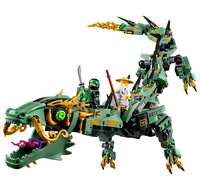 592pcs Ninjagoes Movie Series Flying Legoings Mecha Dragon Figs Building Blocks Bricks Toys Children Model