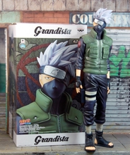 28.5cm Naruto GEM Grandista ROS GROS Shinobi Relation Hatake Kakashi PVC Action Figure Toys for christmas gift