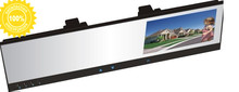 car camera dvr 4.3 TFT LCD monitor HD 720P dvr  recorder camera  4.3″vehicle rear view mirror  blackbox dvr touch botton