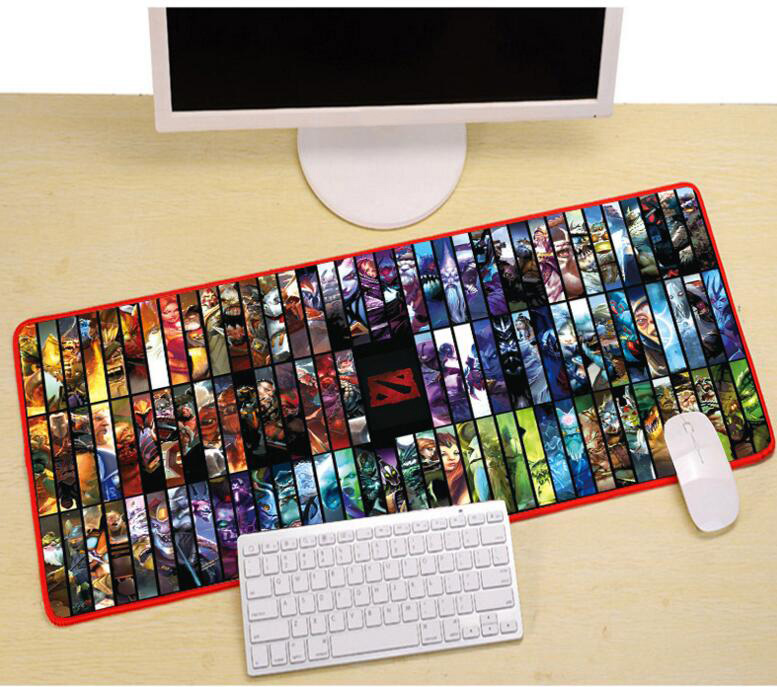 800x300x3mm gaming muismat DIY lock rand computer mousepad laptop - Computerrandapparatuur - Foto 2