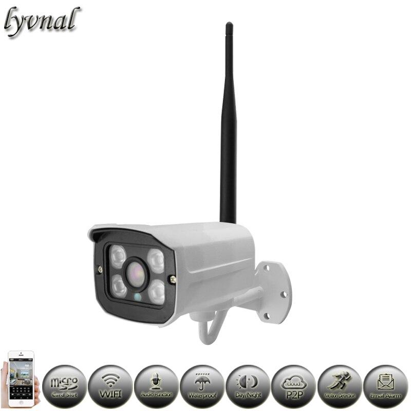 bilder für SONY322 Wifi Kamera 1080 P Micro SD/Tf-Slot Drahtlose ip Kamera Mit Audio P2P ONVIF Wasserdicht Überwachungskamera Wifi System