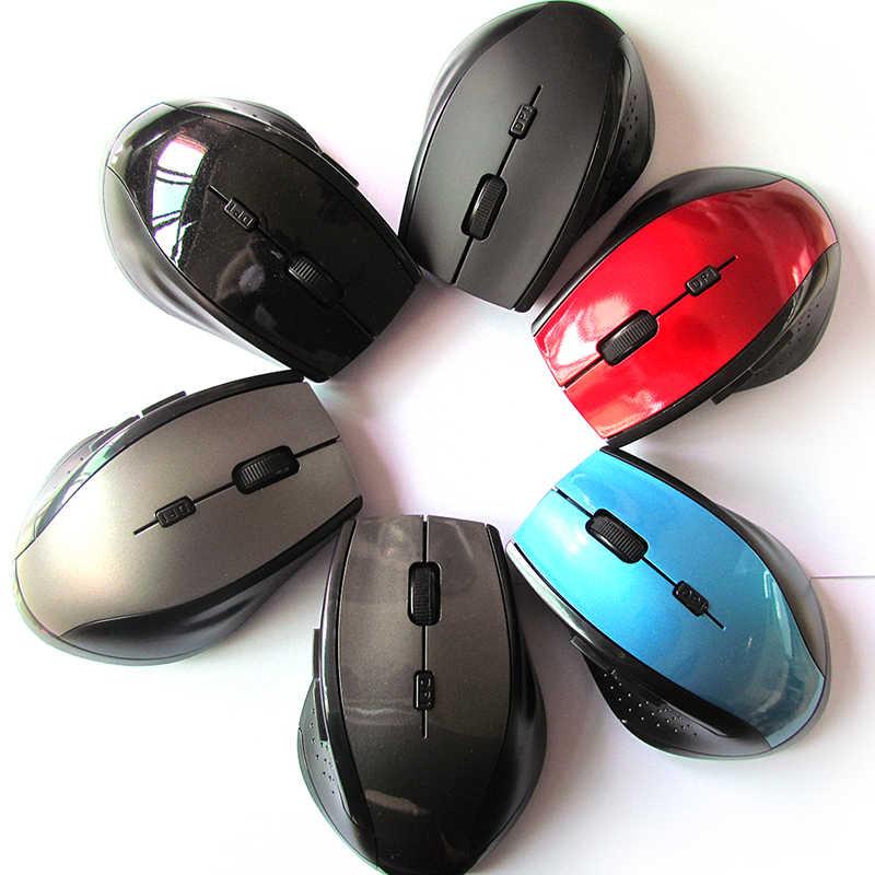Mini 2.4 GHz Không Dây Gamer Chuột Quang Cho PC Chơi Game Máy Tính Xách Tay Trò Chơi Chuột Không Dây Với Receiver USB