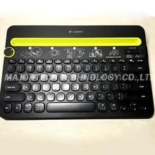 100% Original Logitech K480 Teclado portátil teclado inalámbrico Bluetooth Multi-Dispositivo para Computadoras/Tabletas/Teléfonos Inteligentes