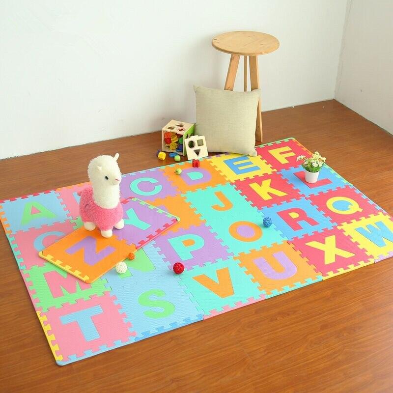 26 pièces/ensemble enfants tapis Puzzle bambin jouets Eva mousse bébé Gym tapis sol souple jouet éducatif enfant tapis tapis de développement - 6