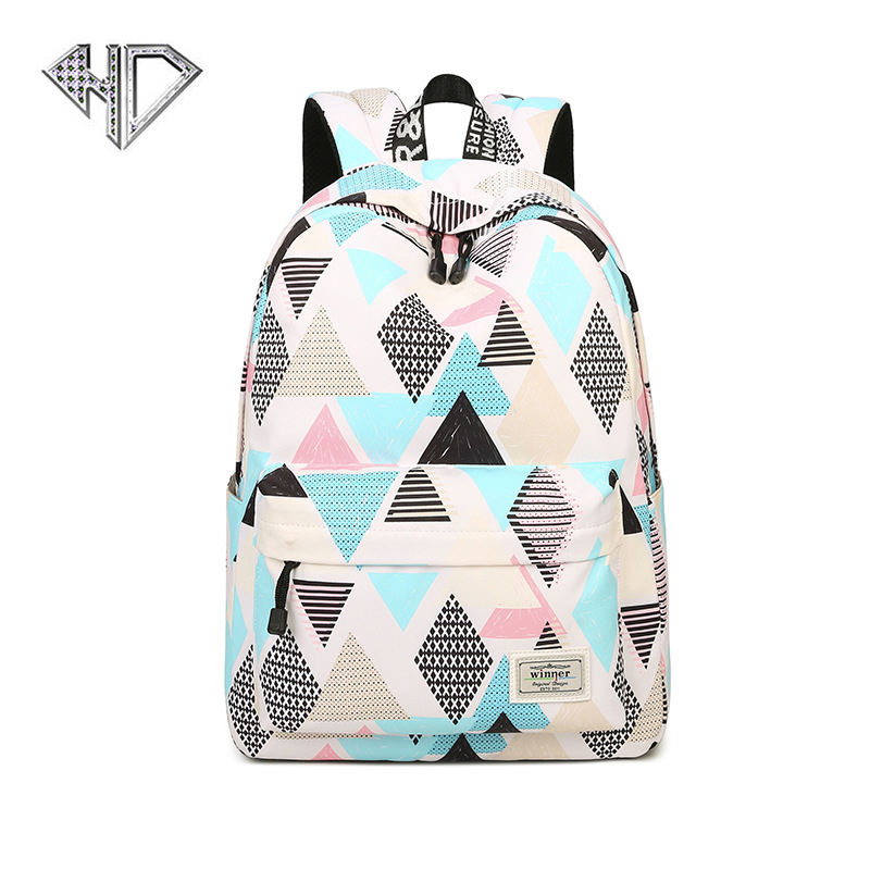 Canvas 3D Space Printing Backpack Women School Backpacks Bag for Teenage Girls Laptop Rucksack Bagpack Female Schoolbag Mochila children school bag minecraft cartoon backpack pupils printing school bags hot game backpacks for boys and girls mochila escolar