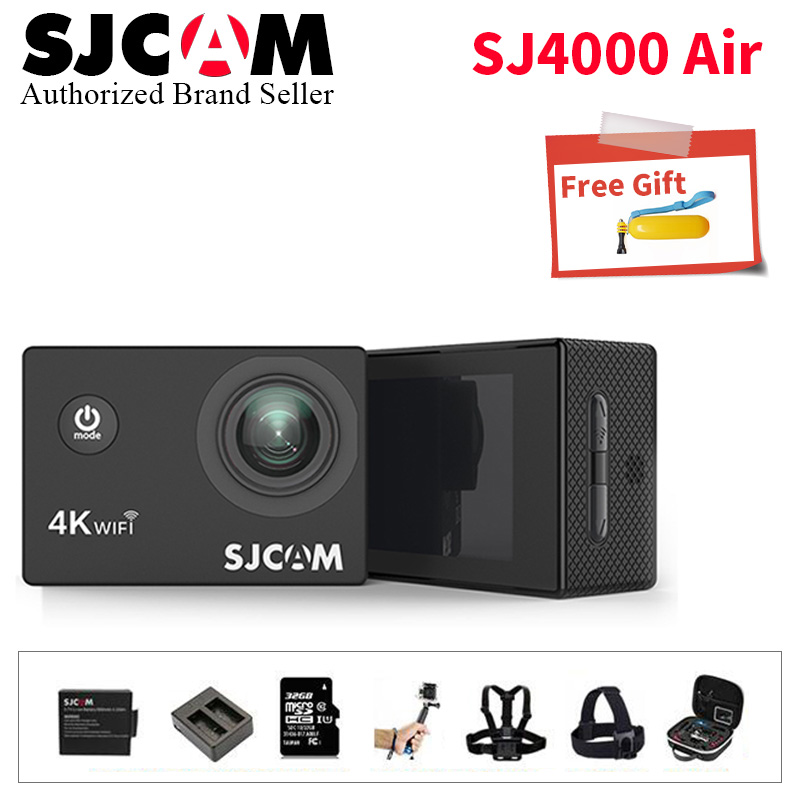 SJ4000 Air WIFI Action Camera Diving 30M Waterproof 1080P Full HD Go Underwater Helmet Sport Camera Sport DV 16MP Pixel Camera sj4000 wifi full hd 1080p camera sport 2 0 lcd sj 4000 helmet cam go waterproof camera pro style sport dv mini camera sport
