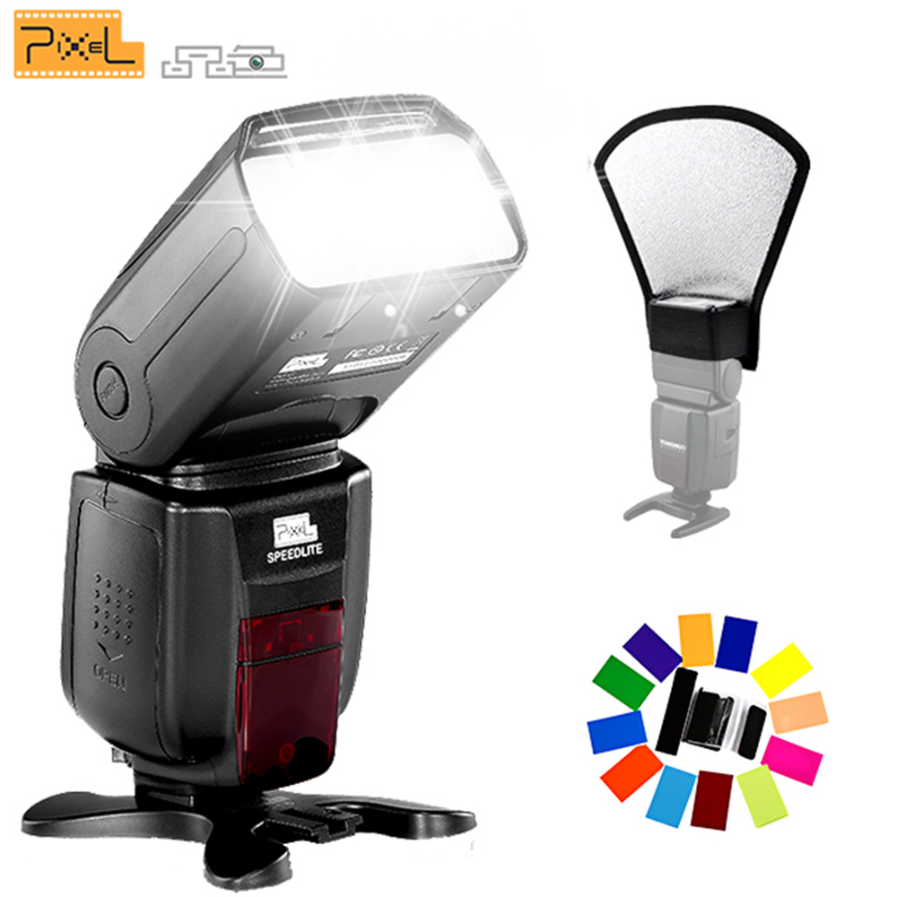 Pixel X800N Standard Flash Speedlite Wireless TTL 1/8000S HSS For Nikon Camera vs YONGNUO YN-568EX YN-565EX TR-586EX MK-910 yongnuo yn565ex wireless ttl flash speedlite yn 565ex for nikon d7100 d7000 d5200 d5100 d5000 d3100 camera vs triopo tr 586ex