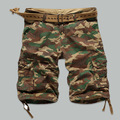 Hombres Pantalones Cortos de carga Masculina 2016 de Los Hombres Pantalones Cortos Casuales hombres Pantalones Cortos de Camuflaje Militar Camuflaje Corto