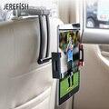 JEREFISH держатель планшета для машины PC держатель для 4 7-11 дюймов держатель для телефона Универсальный Автомобильный держатель для заднего си...