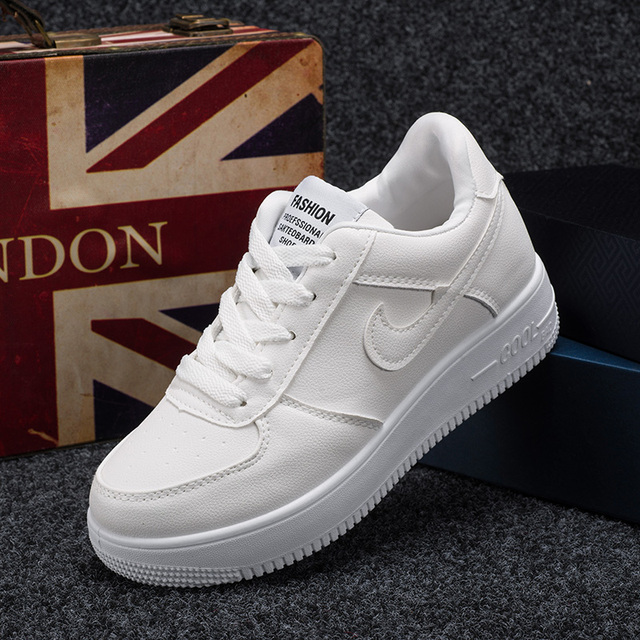 Classic All White Unisex Casual Outdoor Shoes
