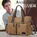 Top Quality Trendy men messenger bags men travel bag male shoulder bag Vintage canvas bags