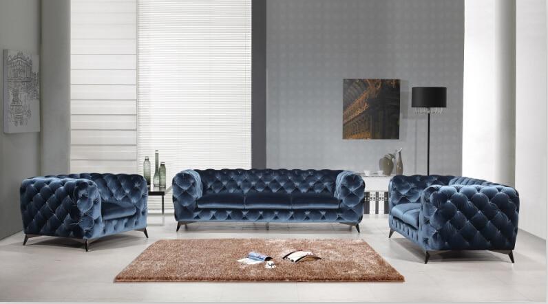 Online kopen Wholesale fluwelen chesterfield sofa uit China ...