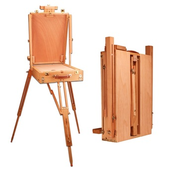 Easel for Men Ladies Caballete Artist Easel for Painting Chevalet En Bois Oil Paint Easel Painting Stand Painting Accessories