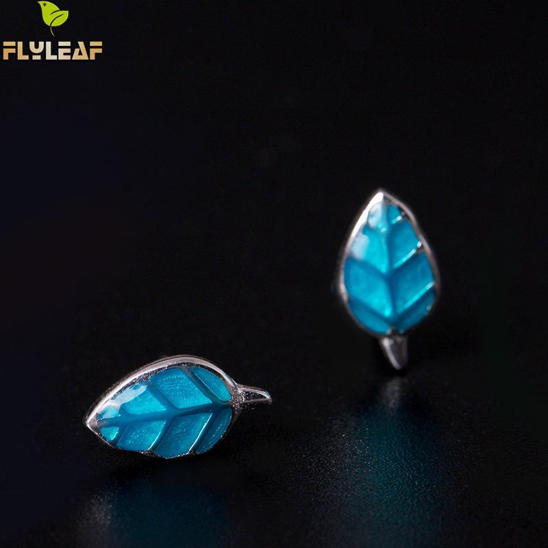 Купить женские серьги flyleaf из серебра 100% пробы с синими эмалью