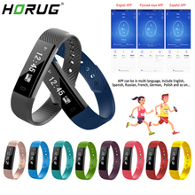 HORUG Smart Wristband Fitness Bracelet Waterproof Tracker Band Sports Message Heart Rate Sleep Snap
