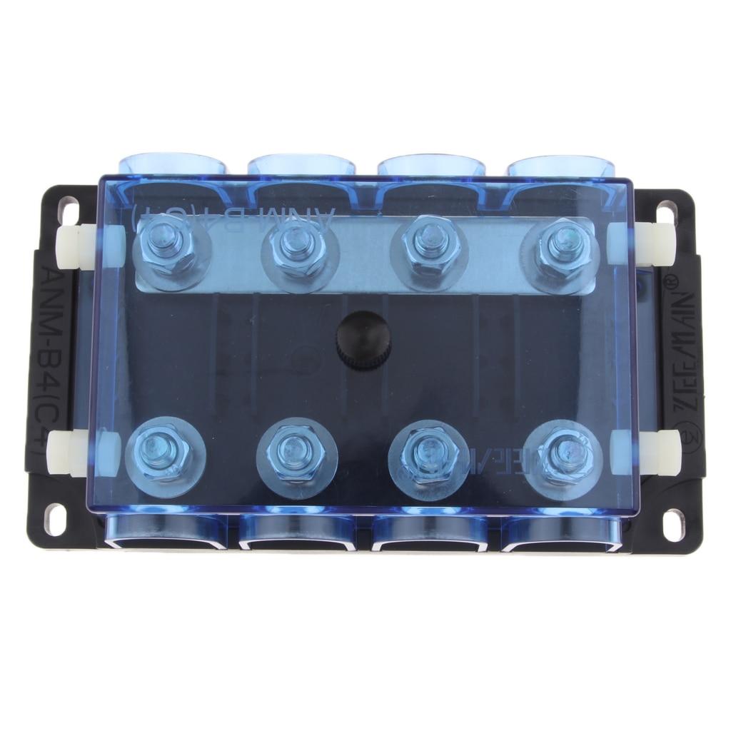 8 voies Circuit Standard lame fusible boîte bloc support Plug Auto pièces de rechange pour voiture bateau 8.5x8.5x3.5 cm