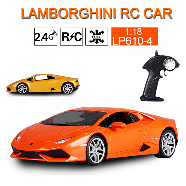 Lamborghini Drift Rc 2 4ghz Remote Car Mini 1 18 Size Cool Racing