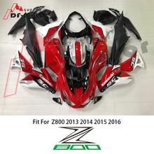 For SC-PROJECT  ABS Injection Plastics Fairings Kit Kawasaki Z800 2013 - 2016 13 14 15 16 Orange Matte Black Bodywork SC