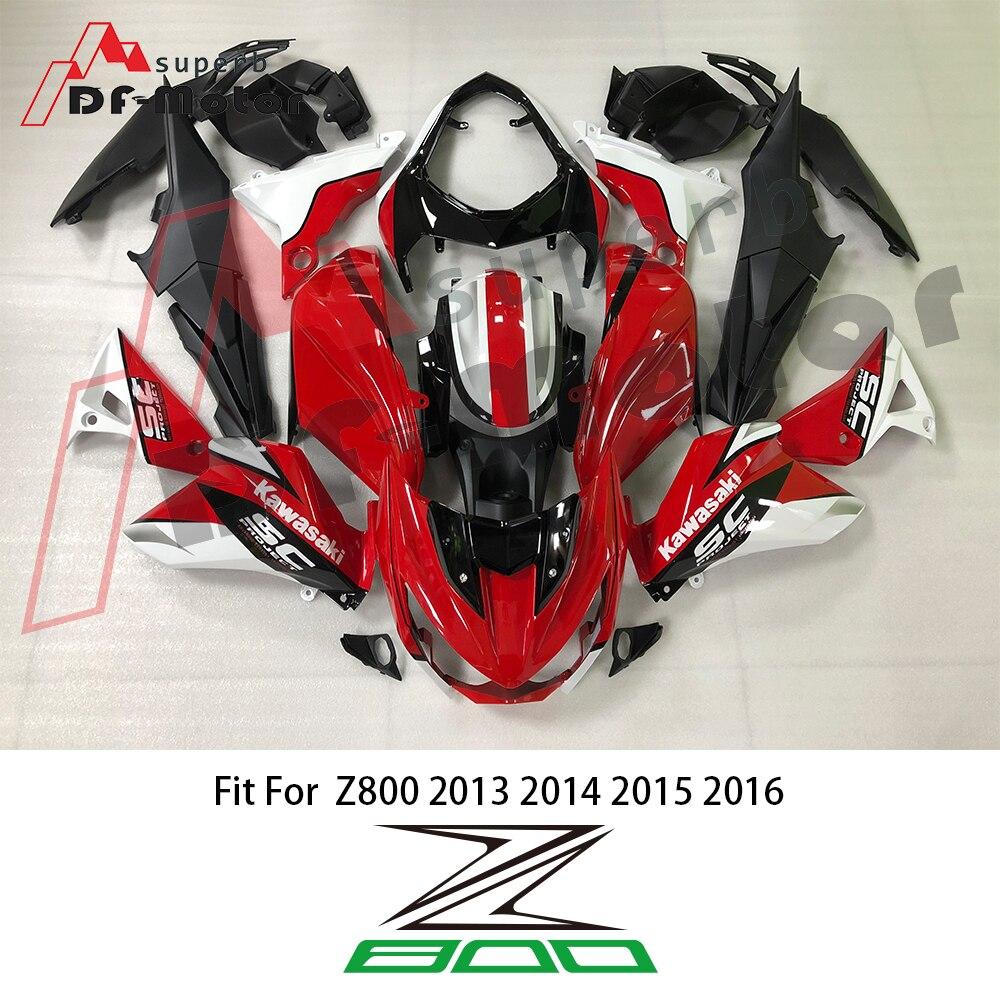 Para Z800 SC-PROJECT Injeção ABS Carenagens de Plástico Kit Para Kawasaki 2013-2016 13 14 15 16 Laranja Preto Fosco carroçaria SC