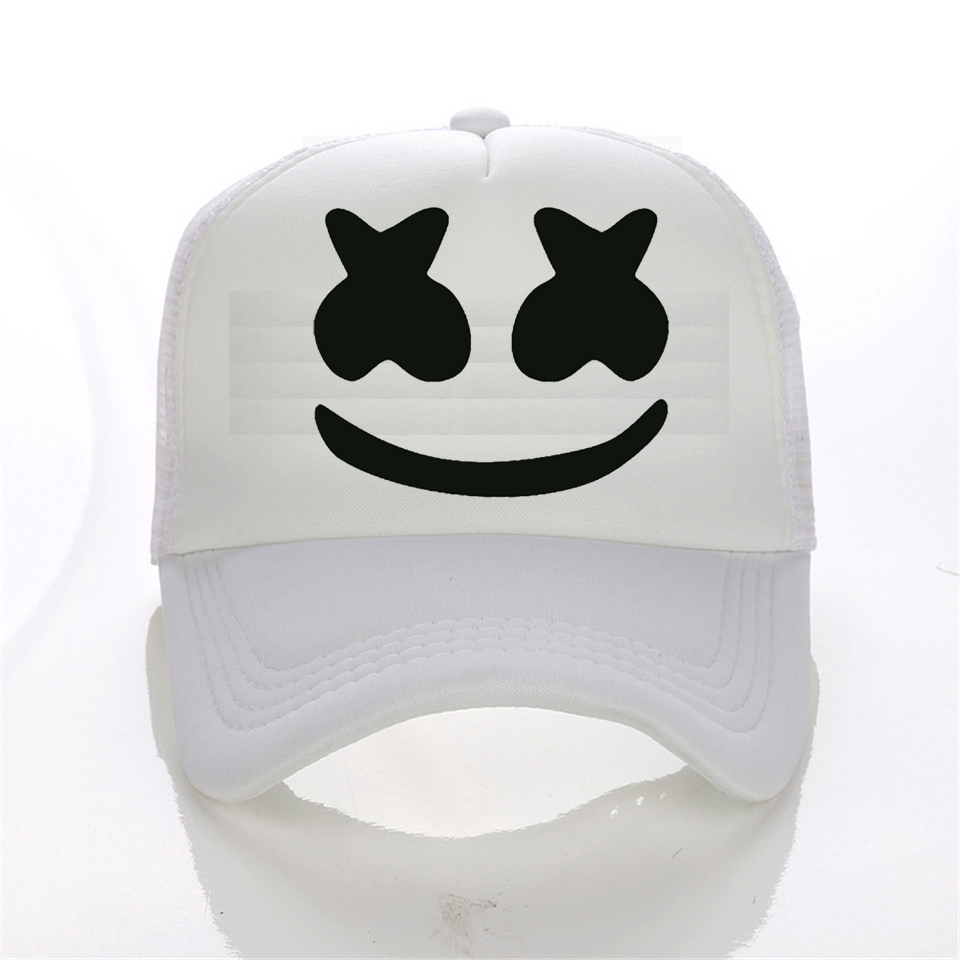 Marshmello Baseball Cap Hat Cotton