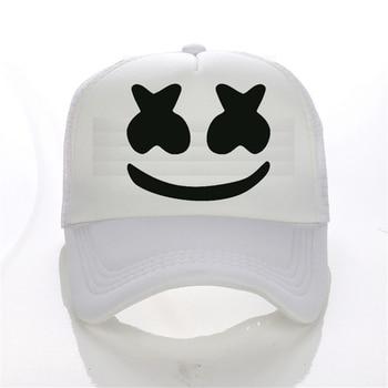 Marshmello Baseball Cap Hat Cotton