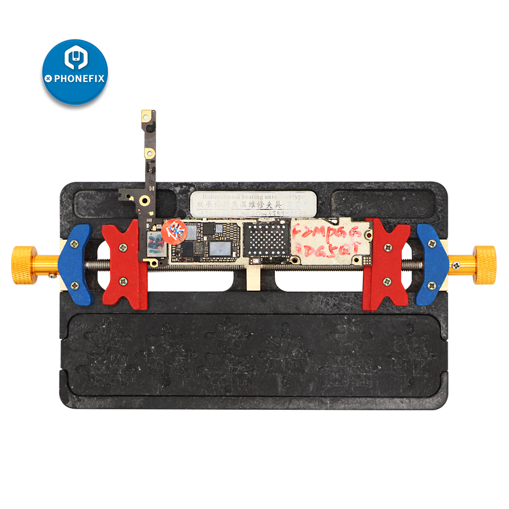 Flexible Double-shaft BGA Positioning PCB Fixture Repair Tool Motherboard Jig Holder High Temperature Phone PCB Soldering Holder