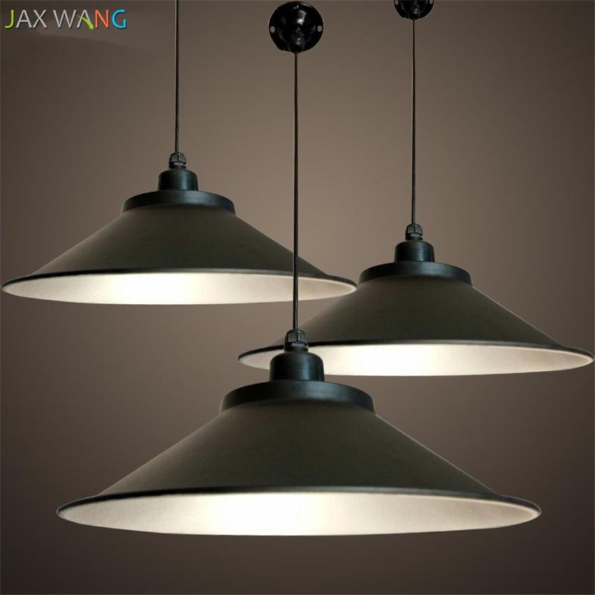 Retro Indoor Lighting Vintage Pendant Light Led Lights 24: Vintage LED Horn Pendant Lights Aluminum Lampshades