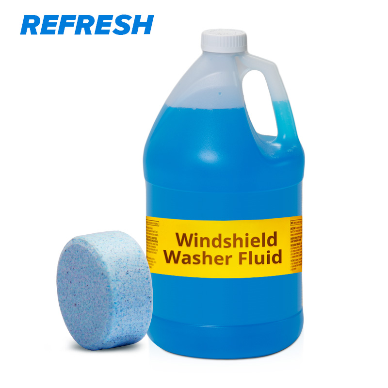 Solid Washer Concentrate Making Up Windshield Washer Fluid Screen Wash Wiper Fluid Car Solid Cleaner ( 6 pcs / Pack )(China)