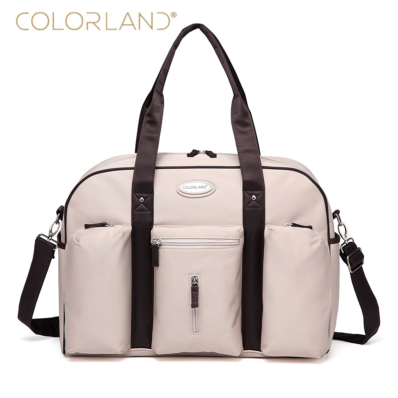 Factory Outlet Mommy Tote Bag With Separate Pockets, Fashion Baby Diaper Bags, Can Change To Portable Messenger Bag, Daddy Bags