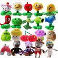 20 estilos de plantas vs Zombies brinquedos de pelúcia 12 - 28 cm plantas vs Zombies brinquedos de pelúcia boneca de brinquedo para crianças presentes brinquedos