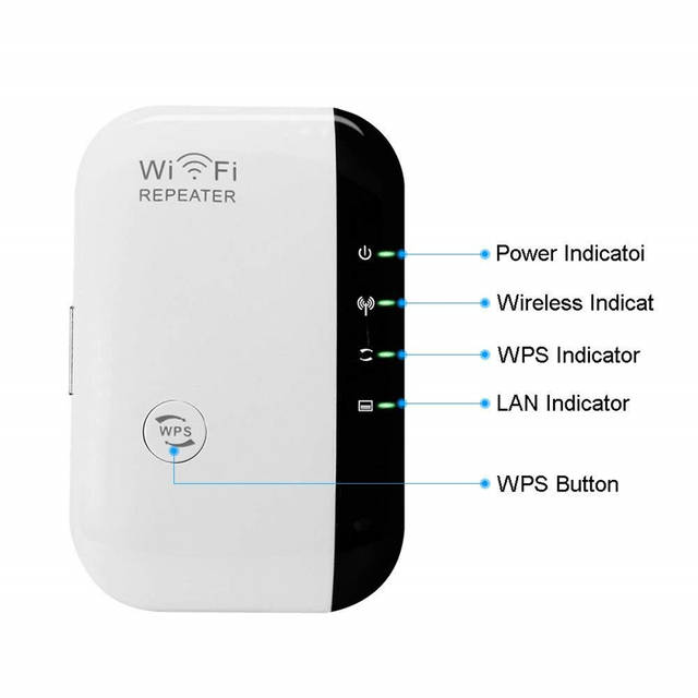 300Mbps Wireless WiFi Repeater Extender AP WI-FI Signal Range Amplifier  Booster Mini 2 4G Tp Link Wi Fi Hotspot Wlan Tplink