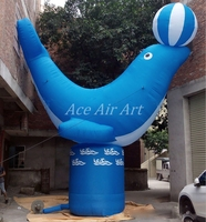 cool advertising inflatable Dolphin for Marine Museum Event or Promotion