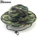 [Dexing]19 Color Summer Men Women Camouflage Fishing Bucket  hat with string Gorras Fisherman Carp Fishing Cap panama safari hat